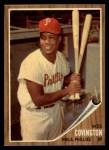 1962 Topps #157 GRN Wes Covington  Front Thumbnail