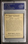1939 Play Ball #116  Gene Desautels  Back Thumbnail