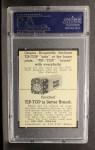1947 Tip Top Bread  Johnny Schmitz  Back Thumbnail