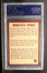 1967 Philadelphia #108   Minnesota Vikings Logo Back Thumbnail