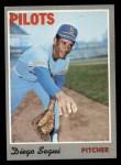 1970 Topps #2  Diego Segui  Front Thumbnail