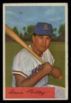 1954 Bowman #163 A Dave Philley  Front Thumbnail
