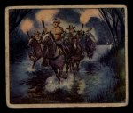 1949 Bowman Wild West #2 F  Vigilantes Ride Front Thumbnail