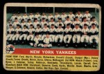 1956 Topps #251   Yankees Team Front Thumbnail