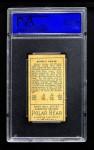 1911 T205  Robert Byrne  Back Thumbnail