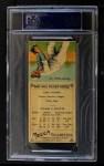 1911 T201 Mecca  Eddie Cicotte / Jack Thoney  Back Thumbnail