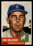 1953 Topps #97  Don Kolloway  Front Thumbnail