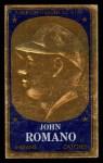 1965 Topps Embossed #10  John Romano  Front Thumbnail