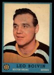 1962 Topps #5  Leo Boivin  Front Thumbnail