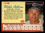 1962 Post Cereal #186  Richie Ashburn   Front Thumbnail