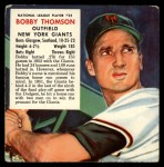 1953 Red Man #25 NL x Bobby Thomson  Front Thumbnail