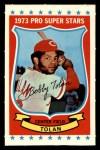 1973 Kellogg's #32  Bobby Tolan  Front Thumbnail