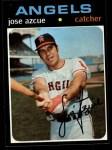1971 Topps #657  Joe Azcue  Front Thumbnail