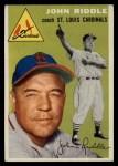 1954 Topps #147  John Riddle  Front Thumbnail