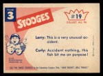 1959 Fleer Three Stooges #19   Hey Fellows I Think I've Got Back Thumbnail