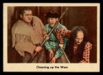 1959 Fleer Three Stooges #32   Cleaning Up the West.  Front Thumbnail