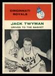 1961 Fleer #65   -  Jack Twyman In Action Front Thumbnail