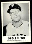 1960 Leaf #53  Bob Friend  Front Thumbnail