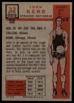 1957 Topps #32  John Kerr  Back Thumbnail