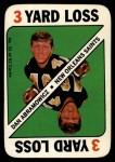 1971 Topps Game #33  Dan Abramowicz  Front Thumbnail