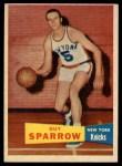 1957 Topps #38  Guy Sparrow  Front Thumbnail