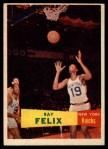 1957 Topps #35  Ray Felix  Front Thumbnail