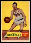 1957 Topps #33  Larry Costello  Front Thumbnail