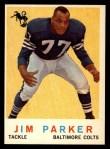 1959 Topps #132  Jim Parker  Front Thumbnail