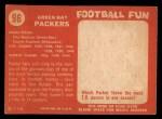 1958 Topps #96   Packers Team Back Thumbnail