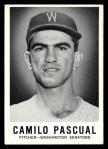 1960 Leaf #4  Camilo Pascual  Front Thumbnail