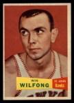 1957 Topps #65  Win Wilfong  Front Thumbnail