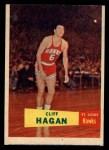 1957 Topps #37  Cliff Hagan  Front Thumbnail