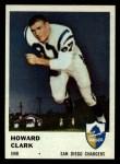 1961 Fleer #159  Howard Clark  Front Thumbnail