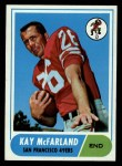 1968 Topps #113  Kay McFarland  Front Thumbnail