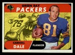 1968 Topps #27  Carroll Dale  Front Thumbnail