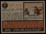 1962 Topps #551  Harry Bright  Back Thumbnail