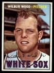 1967 Topps #391  Wilbur Wood  Front Thumbnail