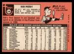 1969 Topps #248  Bob Priddy  Back Thumbnail