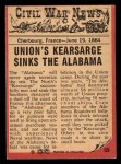 1965 A and BC England Civil War News #69   Death in the Water Back Thumbnail