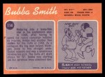 1970 Topps #114  Bubba Smith  Back Thumbnail