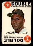 1968 Topps Game #6  Roberto Clemente   Front Thumbnail