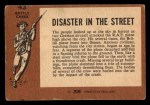 1966 A and BC England Battle #43   Disaster In The Street Back Thumbnail