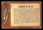 1966 A and BC England Battle #46   Assassin In The Sky Back Thumbnail