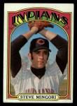1972 Topps #261  Steve Mingori  Front Thumbnail
