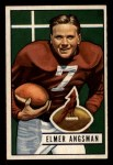 1951 Bowman #97  Elmer Angsman  Front Thumbnail
