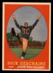 1958 Topps #48  Dick Deschaine  Front Thumbnail