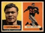 1957 Topps #79  J.C. Caroline  Front Thumbnail