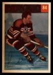 1954 Parkhurst #84  Lee Fogolin  Front Thumbnail