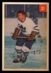 1954 Parkhurst #21  Rudy Migay  Front Thumbnail