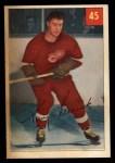 1954 Parkhurst #45  Tony Leswick  Front Thumbnail